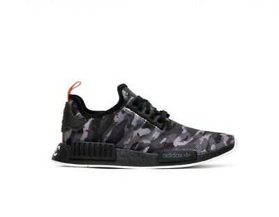 39f8a9168 Brand New Adidas NYC Original Runner Boost NMD- R1 Black   Gray Camo SZ 10