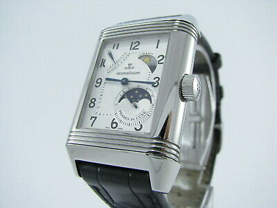 Jaeger Lecoultre Grande Reverso Sun Moon 8- Days A Rare And Discontinued Watch