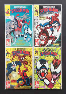 Amazing Spider-Man #344, 361, 362, 363 *DUTCH VARIANTS* 1992 1st Carnage, Venom