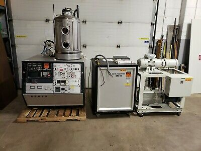 CHA SEC-600-RAP E-Beam Evaporator SR-10 Power Supply Leybold WAU251/D60A Vacuum