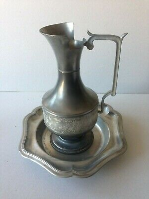Frate In Peltro Marchiato Made In Italy Vintage