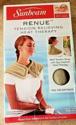 (1) Sunbeam Renue Tension Relieving Heat Therapy
