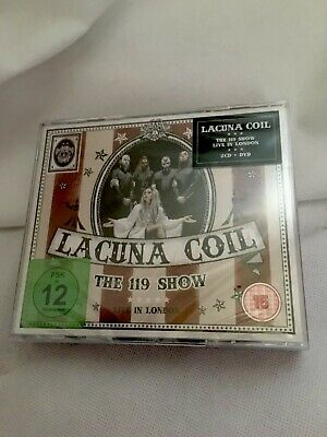 LACUNA COIL - The 119 Show  (2 CD + 1 DVD BOX SET - NEW SEALED)