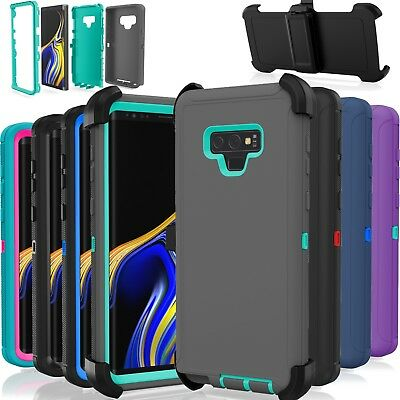 Samsung Galaxy Note 9 Case Cover Shockproof (Fits Otterbox Defender Belt Clip)