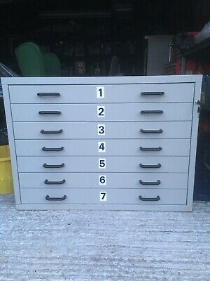 Plan Chest A1 Filing Drawers