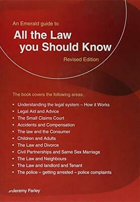Jeremy Farley - All The Law You Should Know