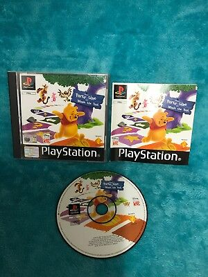 Disney's Party Time with Winnie the Pooh PS1 (COMPLETE) Sony PlayStation