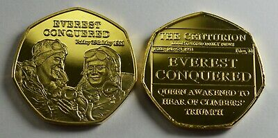Mount Everest Conquered.newspaper Series. 50P Coin Collectors. Album Filler.new.
