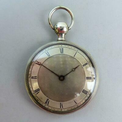 Antique Silver L'epine Repeater Movement Slim Pocket Watch C.1890