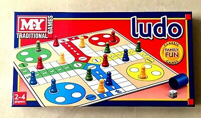 M.y Traditional Games Ludo Board Classic Family Fun Toy Games Kids & Adult
