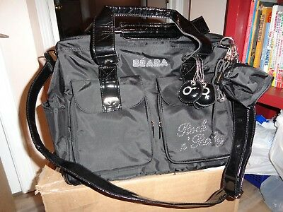 BEABA, ATTRACTIVE BABY DIAPER BAG, NEW, NEVER BEING USED, complete.