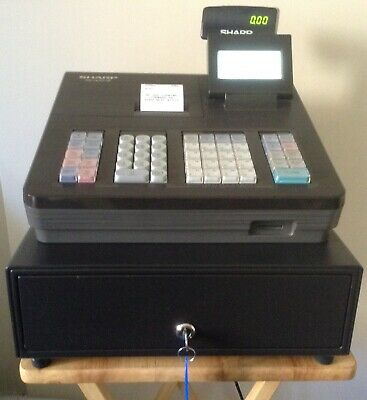 Sharp XE-A207-BK Electronic Cash Register With Till Rolls And Free P&P