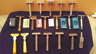 Vintage Safety Razor Lot