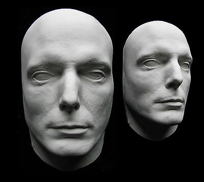 Christopher Reeve Superman Life Mask Bust Cast Clark Kent Hot Toys Kryptonite