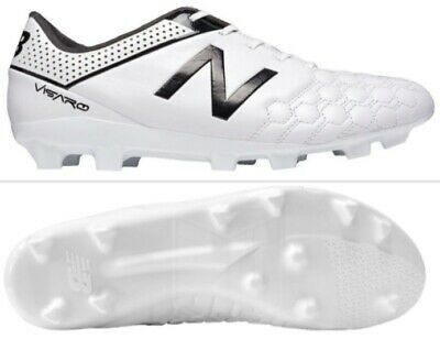 f88c2a012316e New Balance Visaro Fg Mens Leather Soccer Cleats Msvcofwh White Size 9 New