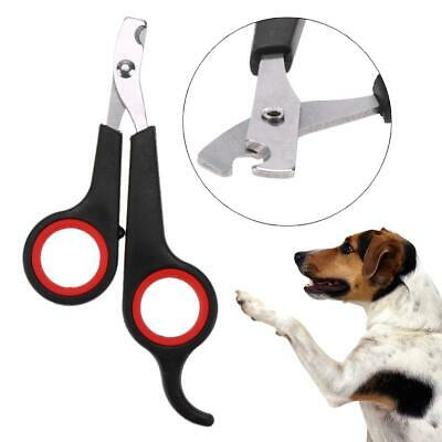 Pet Dog Cat Stainless Steel Professional Nail Toe Trimmer Clipper Grooming Tool