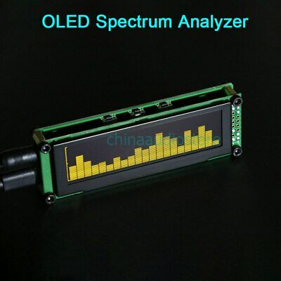 21 Bands OLED Spectrum Analyzer Display Music Audio Spectrum Graphic Equalizer