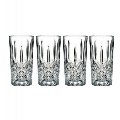 Brand new Waterford Marquis Markham Hiball Crystal Tall Glasses, Set of 4, $100