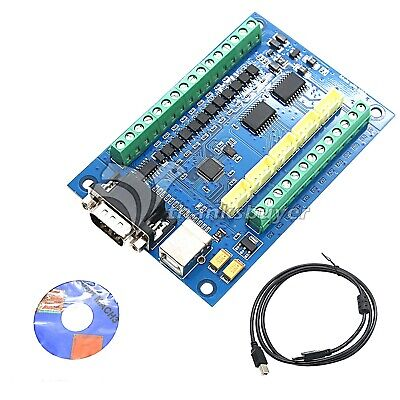 5 Axis CNC MACH3 Motion Control Breakout Board Card for CNC Engraving 12-24V NEW