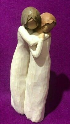 Willow Tree Chrysalis Demdaco 2004 Susan Lordi 2 Girls Mother Doughter Figurine