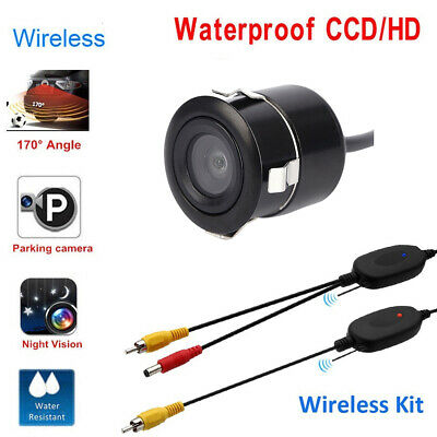 Wireless Car Rear View Reversing Backup Waterproof Camera For Vehicle Parking