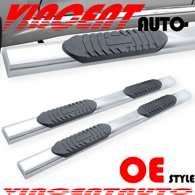 "For 07-18 CHEVROLET Tahoe GMC Yukon 6/"" Running Boards Nerf Bar Side Step H BLK"