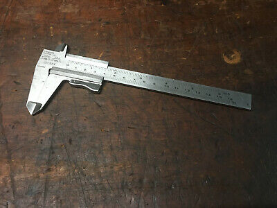 Vernier Caliper Made in Germany, Vintage Carl Schlieper Double Eye Brand.