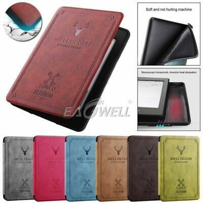 AU For Amazon Kindle Paperwhite 4 2018 10th Retro Flip Leather  Stand Case Cover