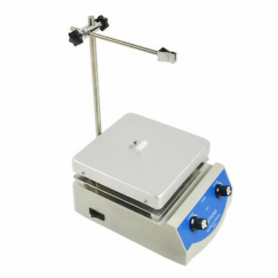 SH-3 Hotplate Stirrer Anodised Top Plate Magnetic Stirrer with Heating 17x17cm