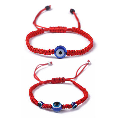 Blue Evil Eye Kabbalah Red String Bracelets Fashion Adjustable Jewelry Unisex