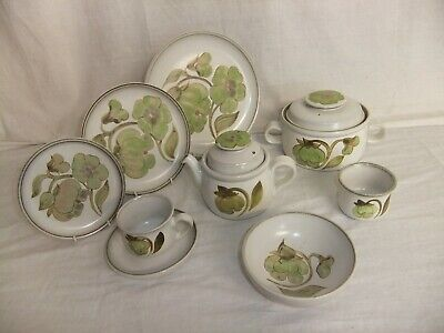 C4 Pottery Denby - Troubadour - stamps may vary 7C3A