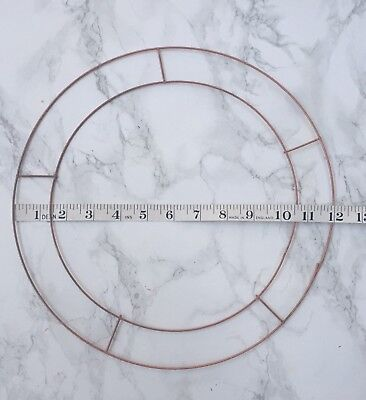 "Wreath Flat Wire 12""x 5 Great For Wreath Making And Other Crafts"