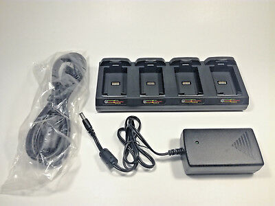 Datalogic Peagaso Four-Slot Battery Charger, 95A251020 NEW