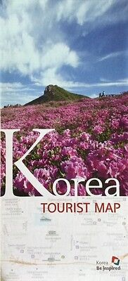 KOREA Tourist Map - SEUL Centre & Metro Map - Free UK postage