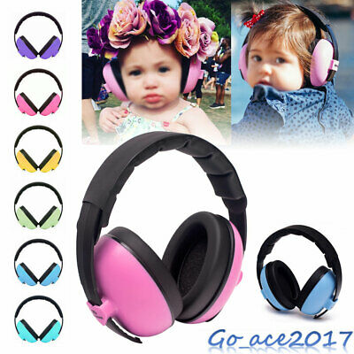 Baby Childs Ear Defenders Earmuffs Protection 6 Colours 3Months+ Boys Girls New