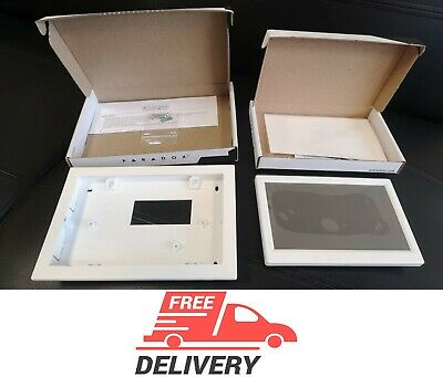 """NEW Paradox Security KIT TM70 7"""" touchscreen + Wall-In bracket security original"""