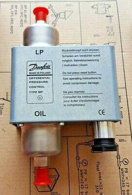 Danfoss Oil Differential Pressure Control 060B016766 New In Box