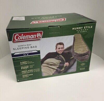 Coleman North Rim Extreme Weather Mummy Style Sleeping Bag