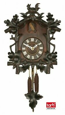 Clocks - Black Forest Cuckoo Clock Poster-Sticker Wall Decal (17x9in) #59221