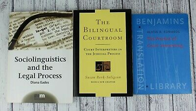 Bundle of 3 court interpreting books incl. The practice of Court Interpreting