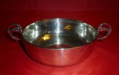 Solid Silver Porringer Bowl, George Nathan & Ridley Hayes, Chester 1906