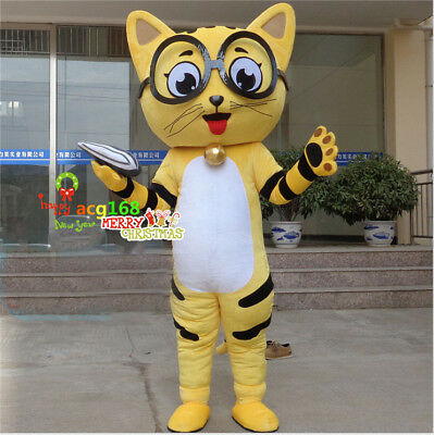 2019 The Cat Pete Mascot Costumes Character Party Fancy Dress Animal Suit Parade