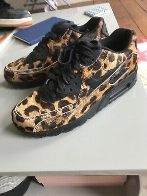 "half off a269f 622b9 NIKE AIR MAX 1 ""LEOPARD PRINT  DESERT ORE"" Hardly Worn IN WOMENS SIZE"