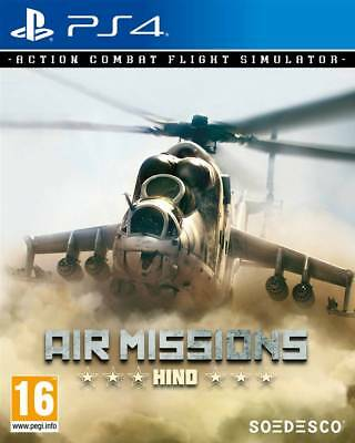 Air Missions Hind  PS4 Neuf sous blister