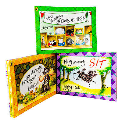 Hairy Maclary & Friend 10 Books Children Collection Paperback By Lynley Dodd