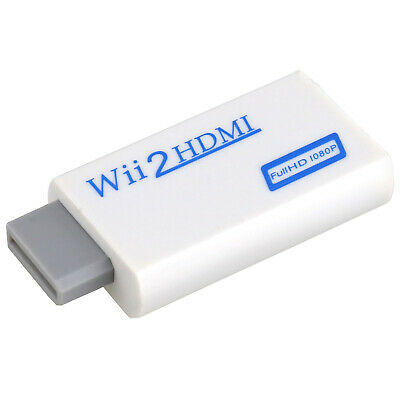 Wii to HDMI 720P 1080P HD Output Console Converter Audio Cable Adapter TV