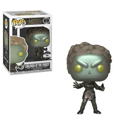 """NYCC_2018_HBO FUNKO POP! Game of Thrones: Children of The Forest """"METALLIC"""""""