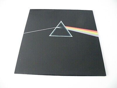 Pink Floyd 'Dark Side Of The Moon' Lp Uk Harvest 1973 Lp G/Fold Posters Stickers