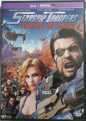 DVD STARSHIP TROOPERS - TRAITOR OF MARS neuf sous blister
