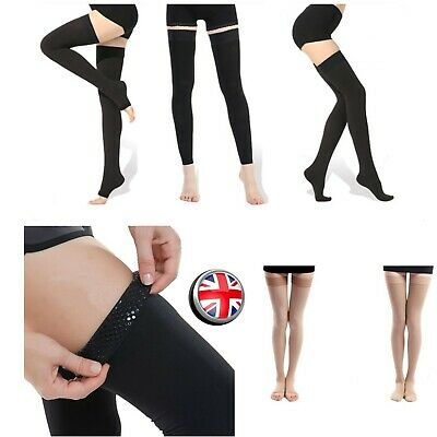 cc3d3d94d Medical Compression Stockings Thigh High Varicose Vein Support Shaper S -  2XL UK